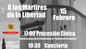 Concierto Homenaje , por los 'Mártires de la Libertad'